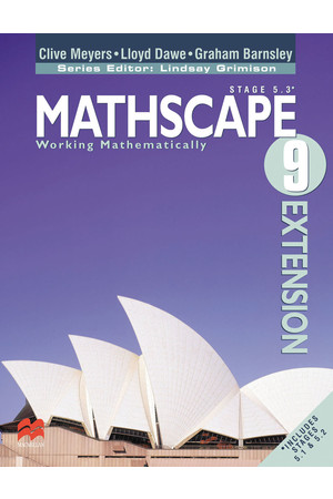 Mathscape 9 Extension - Student Book + CD