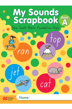 My Sounds Scrapbook - NSW: Book A (Short Vowels)