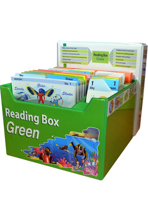 Reading Box Green - Years 5-8