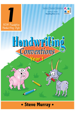 Handwriting Conventions - NSW: Year 1