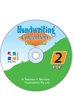 Handwriting Conventions - QLD: PDF CD (Year 2)