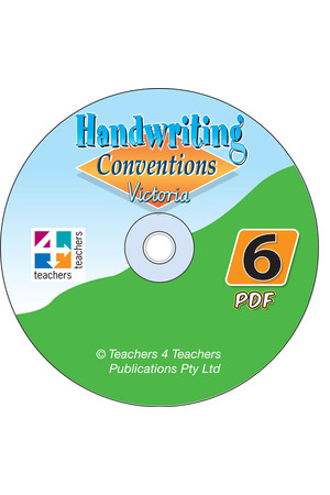 Handwriting Conventions - VIC: PDF CD (Year 6)