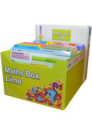 Maths Box Lime - Years 1 to 2/3