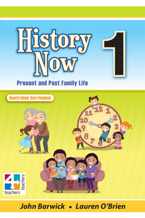 History Now - Student Book: Year 1