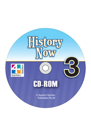 History Now - Teacher's CD-ROM: Year 3
