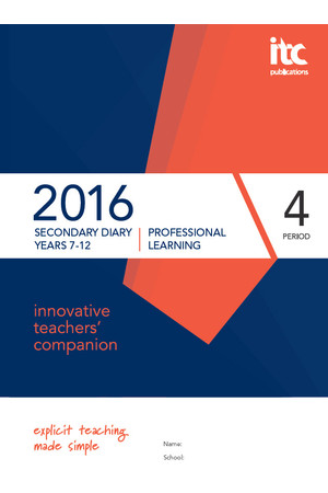 2016 innovative teachers' companion - Secondary Edition (4 Period)