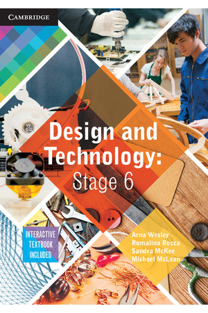 Design and Technology - Stage 6 (NSW): Student Book (Print & Digital)