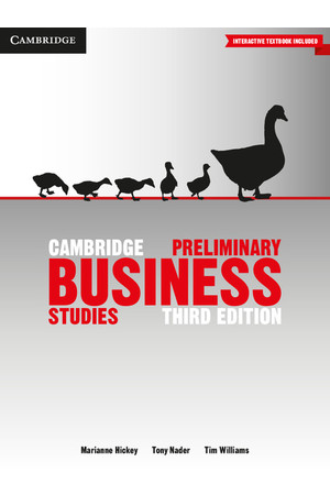 Cambridge Preliminary - Business Studies (3rd Edition): Student Book (Print & Digital)