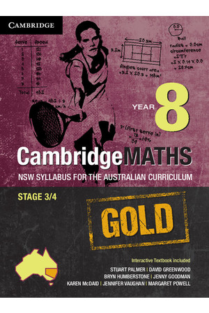 CambridgeMATHS GOLD - NSW Syllabus for the AC: Year 8 - Student Book (Print & Digital)