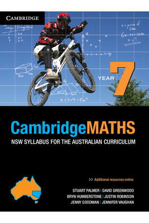 CambridgeMATHS - NSW Syllabus for the AC: Year 7 - Student Book (Print & Digital)