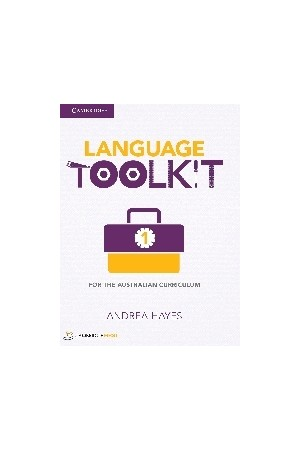 Language Toolkit 1 for the Australian Curriculum - Print