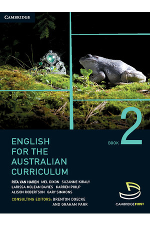 English for the Australian Curriculum - Book 2