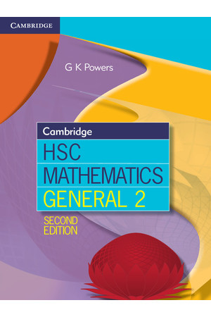Cambridge HSC Mathematics - General 2: Student Book (Print & Digital)