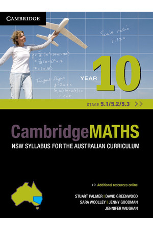 CambridgeMATHS - NSW Syllabus for the AC: Year 10 (Stage 5.1/5.2/5.3) - Student Book + HOTmaths (Print & Digital)