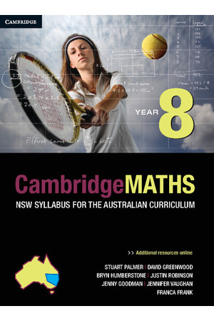 CambridgeMATHS - NSW Syllabus for the AC: Year 8 - Student Book (Print & Digital)