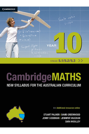 CambridgeMATHS - NSW Syllabus for the AC: Year 10 (Stage 5.1/5.2/5.3) - Student Book (Print & Digital)