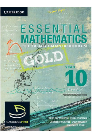 Essential Mathematics Gold for the Australian Curriculum - Year 10: Print & Digital