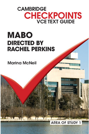 Cambridge Checkpoints VCE Text Guide - Mabo (Digital Access Only)