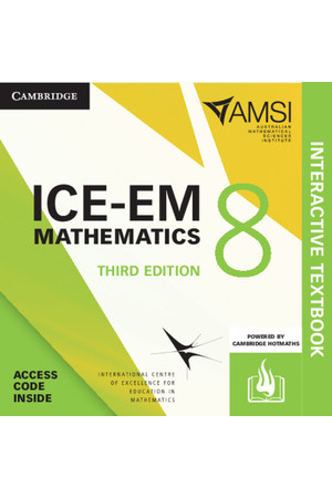 ICE-EM Mathematics for the Australian Curriculum - Third Edition: Year 8 + HOTmaths (Digital Access Only)