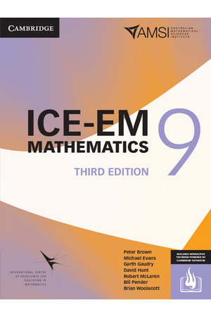 ICE-EM Mathematics for the Australian Curriculum - Third Edition: Year 9 (Print & Digital +HOTmaths)