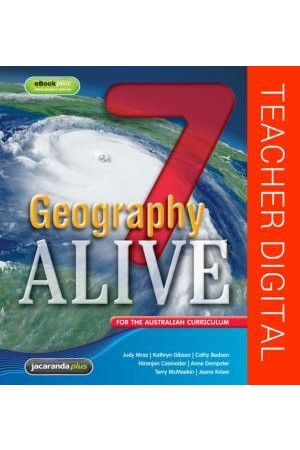 Geography Alive 7 for the Australian Curriculum - Teacher Edition eGuidePLUS