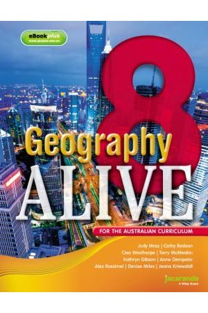 Geography Alive 8 for the Australian Curriculum - eBookPLUS