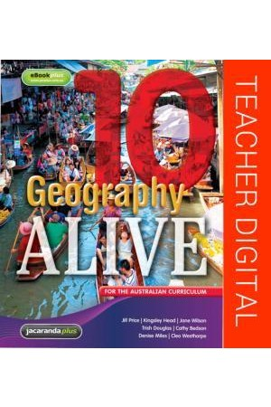 Geography Alive 10 for the Australian Curriculum - Teacher Edition eGuidePLUS