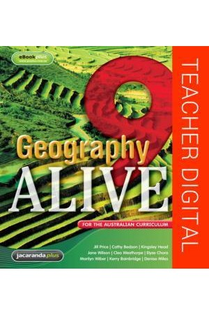 Geography Alive 9 for the Australian Curriculum - Teacher Edition eGuidePLUS