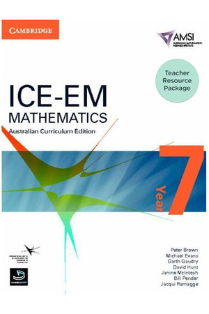ICE-EM - Mathematics Australian Curriculum Edition: Year 7 - Teacher Resource Package