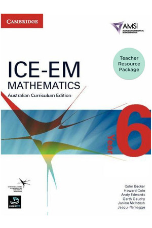 ICE-EM - Mathematics Australian Curriculum Edition: Year 6 - Teacher Resource Package