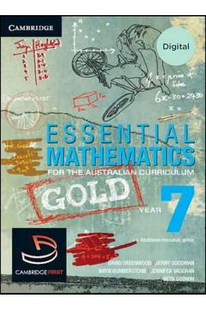 Essential Mathematics GOLD for the AC - Year 7: Student Book (Digital Access Only)