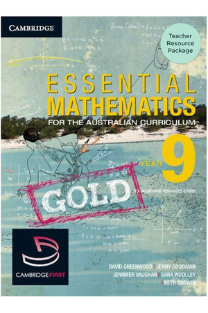 Essential Mathematics Gold for the Australian Curriculum - Year 9: Teacher Resource Package