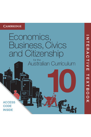 Economics, Business, Civics and Citizenship for the AC - Year 10: Student Book (Digital Access Only)
