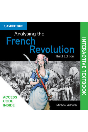 Analysing the French Revolution - 3rd Edition (Digital Access Only)