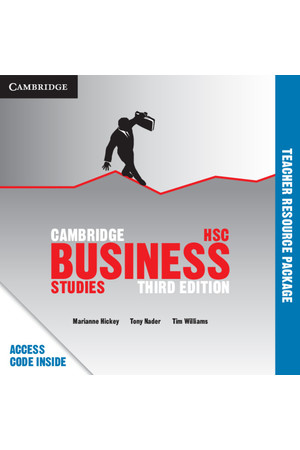 Cambridge Business Studies HSC - 3rd Edition: Teacher Resource Package (Digital Access Only)