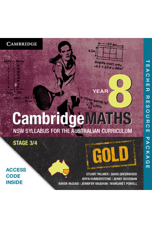 CambridgeMATHS GOLD - NSW Syllabus for the AC: Year 8 - Teacher Resource Package (Digital Access Only)