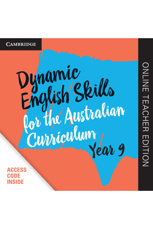 Dynamic English Skills for the AC - Year 9: Teacher Edition (Digital Access Only)