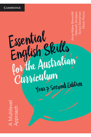 Essential English Skills for the AC (2nd Edition) - Year 7: Student Workbook (Print)