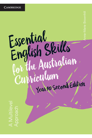 Essential English Skills for the AC (2nd Edition) - Year 10: Student Workbook (Print)