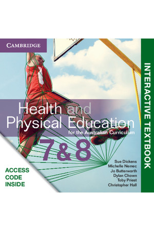 Health and Physical Education for the AC - Years 7 & 8: Student eTextbook (Digital Access Only)