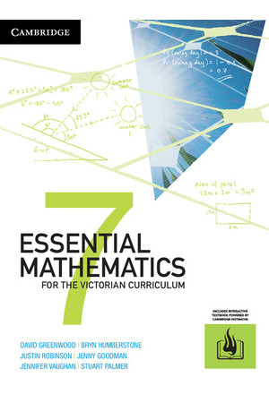 Essential Mathematics for the VIC Curriculum - Year 7: Student Book (Print & Digital)