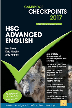 Cambridge Checkpoints HSC - Advanced English (2017)