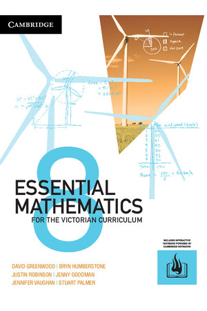 Essential Mathematics for the VIC Curriculum - Year 8: Student Book (Print & Digital)