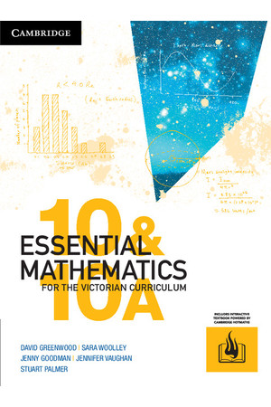 Essential Mathematics for the VIC Curriculum - Year 10: Student Book (Print & Digital)