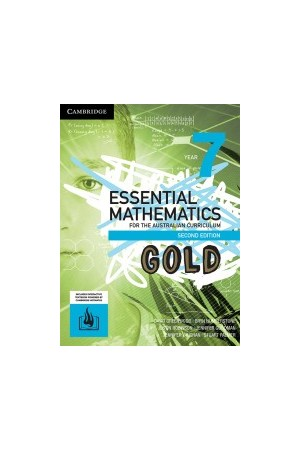 Essential Mathematics GOLD for the Australian Curriculum (2nd Edition) - Year 7