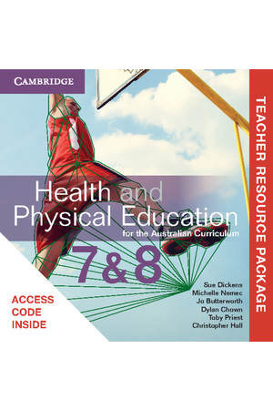 Health and Physical Education for the AC - Years 7 & 8: Teacher Resource Package (Digital Access Only)