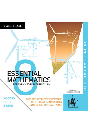 Essential Mathematics for the VIC Curriculum - Year 8: Online Teaching Suite (Digital Access Only)
