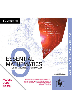 Essential Mathematics for the VIC Curriculum - Year 9: Online Teaching Suite (Digital Access Only)