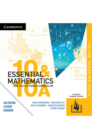 Essential Mathematics for the VIC Curriculum - Year 10: Online Teaching Suite (Digital Access Only)