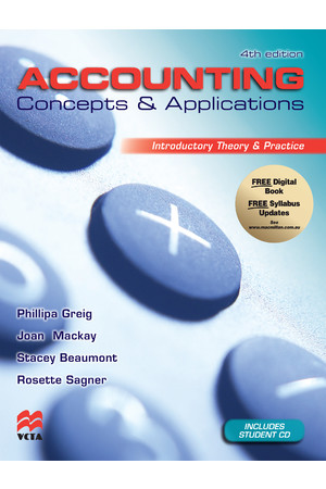Accounting Concepts and Applications + Student CD (Fourth Edition)